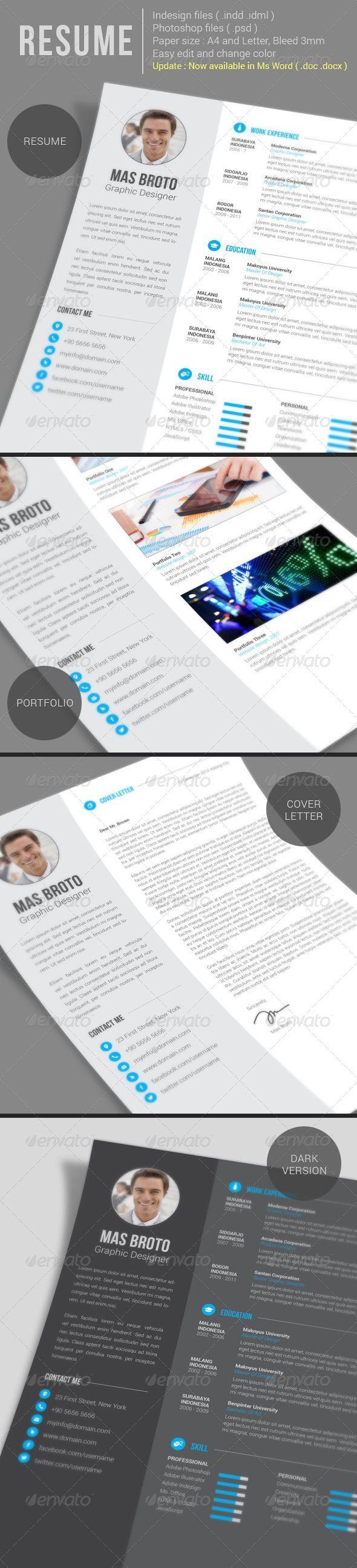 44 best RESUME images on Pinterest | Resume design, Design resume ...