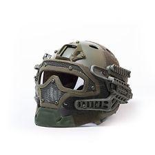 Militar táctico de Airsoft Paintball Casco Protector Máscara Goggles G4 Helmet