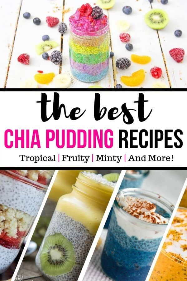 Here Are 12 Of The Best Chia Pudding Recipes For You To Try Out Fruity Minty Matcha Flavored And Chia Pudding Recipes Best Chia Pudding Recipe Chia Pudding
