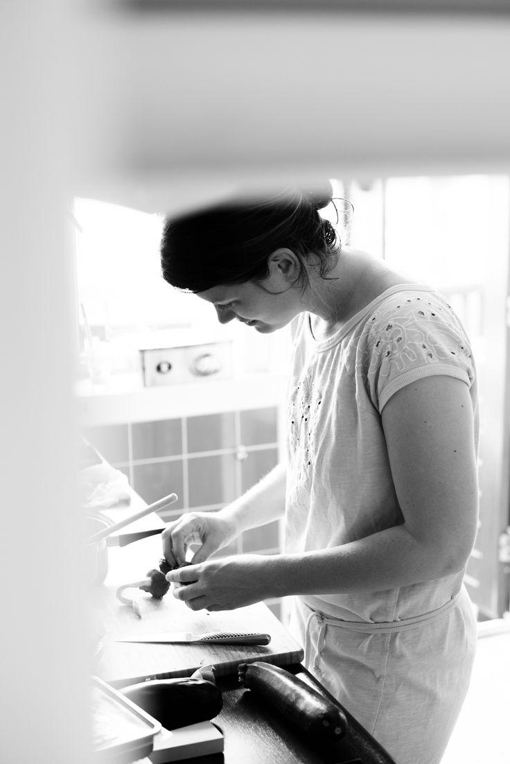 in de keuken  foto door @Ronald Zijlstra