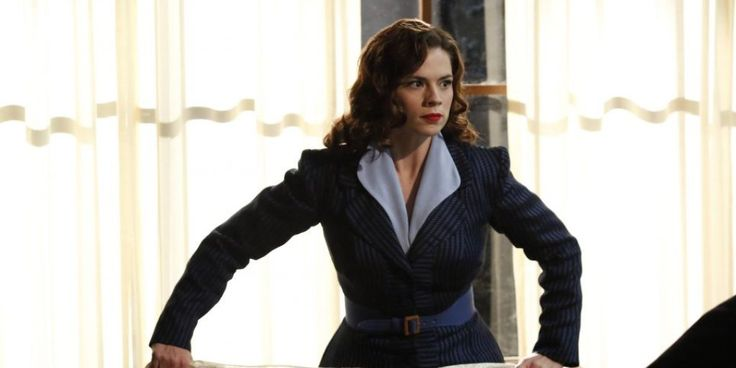 'Agent Carter' and 'Agents of S.H.I.E.L.D' stars support more Marvel merch for women.