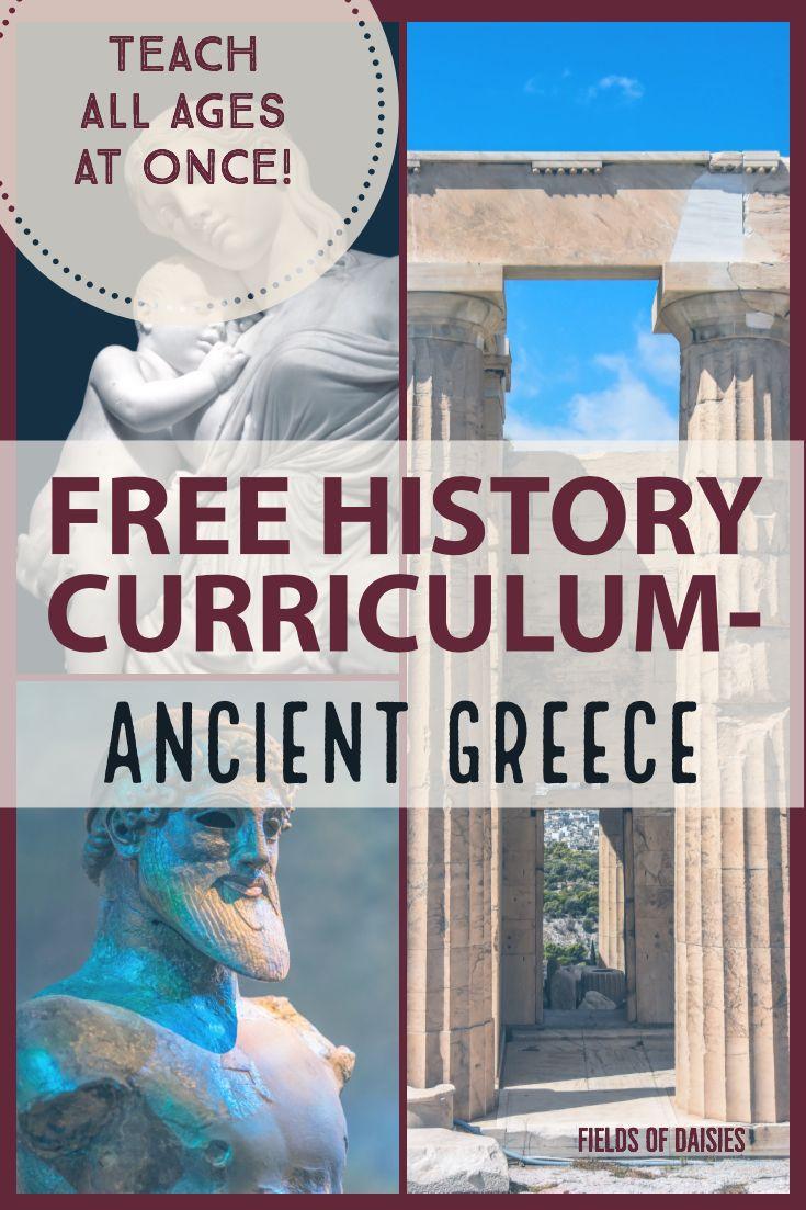 Ancient Greece Free Ancient World History Curriculum History Curriculum Ancient World History Ancient Greece History
