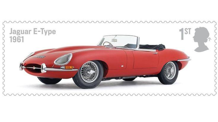 BBC - Autos - Royal Mail celebrates the best of British motoring - Jaguar E-Type 1961