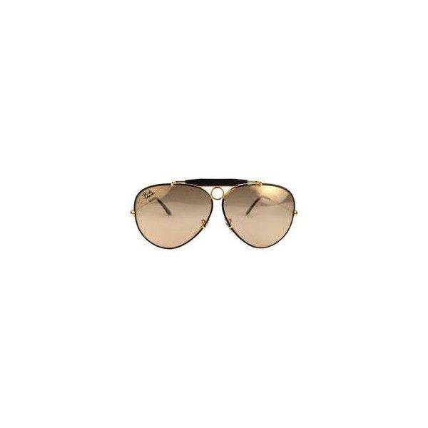 New Ray Ban Precious Metals 24K Gold Black Shooter 62Mm USA Sunglasses ❤ liked on Polyvore featuring jewelry, pendants, black and gold jewelry, black gold jewelry, 24-karat gold jewelry, 24 karat gold jewelry and metal jewelry