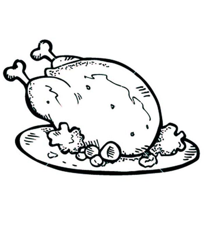 Chicken And Rice Plate Coloring Pages Chicken Coloring Pages Chicken Coloring Chicken Coloring Book