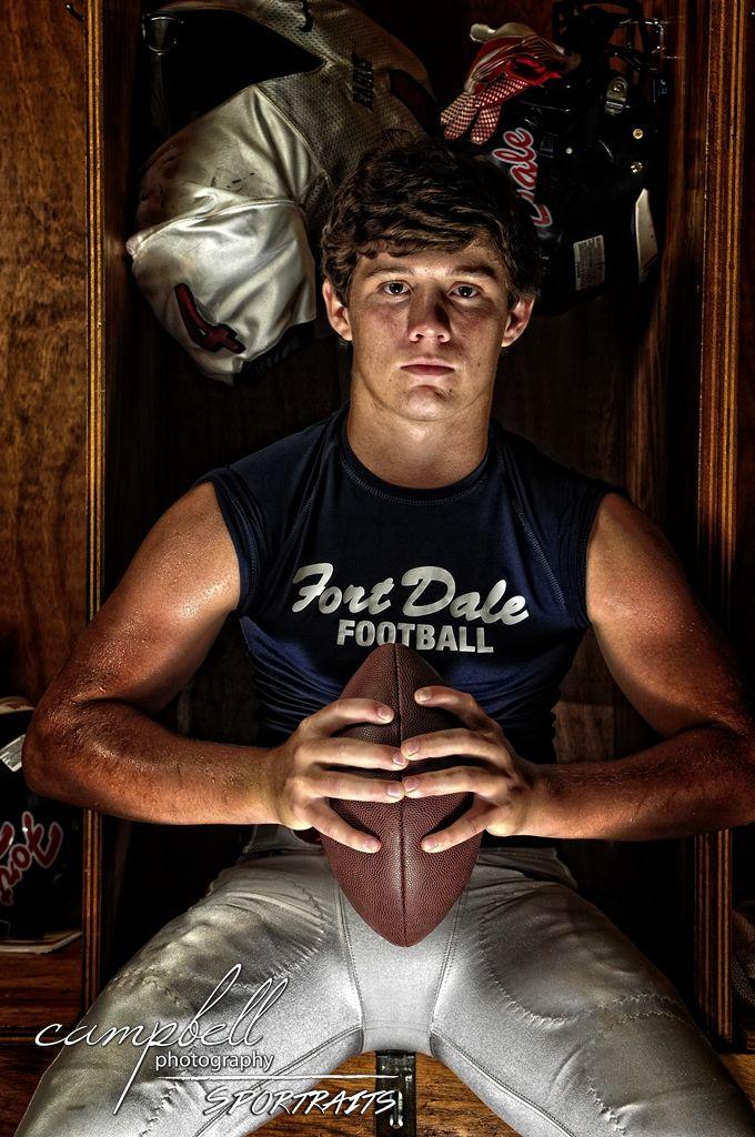 Sports Photography School: High School Football, Senior Boys, Senior, Athlete