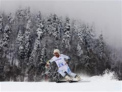 Men's medals decided in Giant Slalom Marc Marcoux GOLD