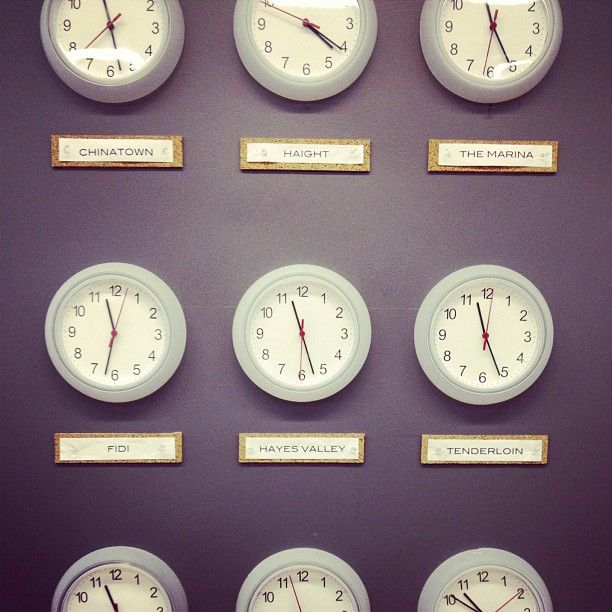 It's just a graphic of Versatile Time Zone Clock Labels