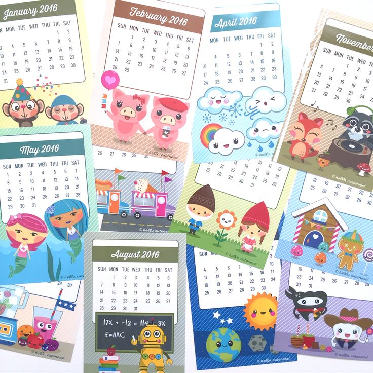 Personal Calendar Korean Planner Spiral Journal Scheduler Personal