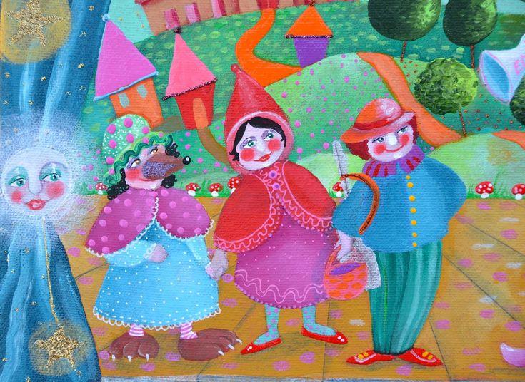 Copioni bambini ~ Burattini fatti a mano copioni per teatro burattini