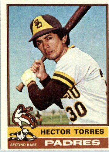 1976 Topps #241 Hector Torres San Diego Padres Baseball Card