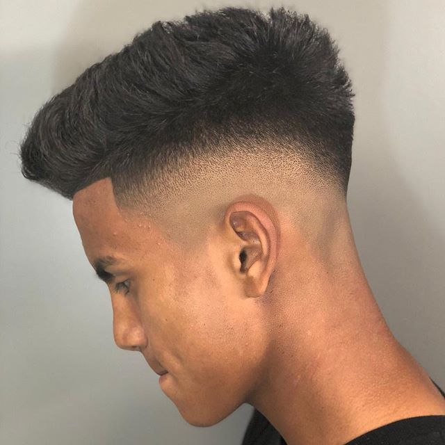Thick Hair Mens Hairstyles Which Are Cool Thickhairmenshairstyles Fade Haircut High Fade Haircut Mens Haircuts Fade
