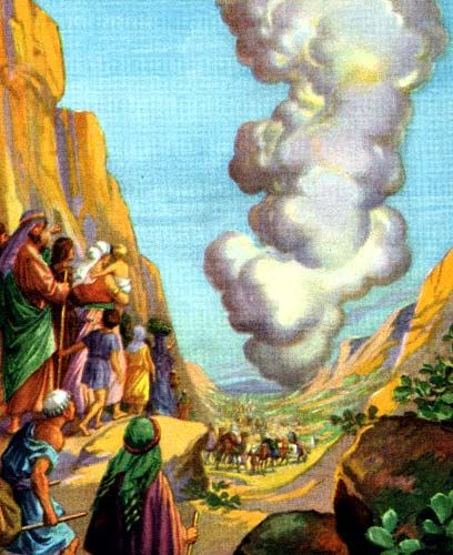 33 best bible study prints images on pinterest bible pictures the exodus god directed moses to lead the israelites out of egypt he guided them by a cloud during the day and a pillar of fire at night fandeluxe Image collections