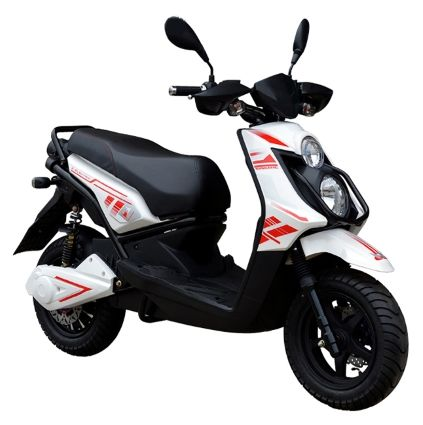 Brand New 2000 Watt Venom Electric Moped Scooter! Limited Quantities Available! Call 1-866-606-3991.