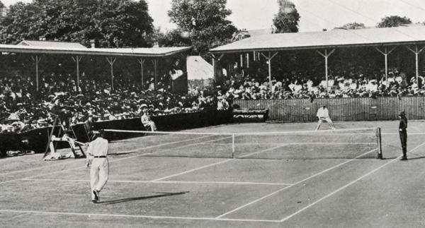 THE FIRST EVER WIMBLEDON TENNIS MATCH IN 1877