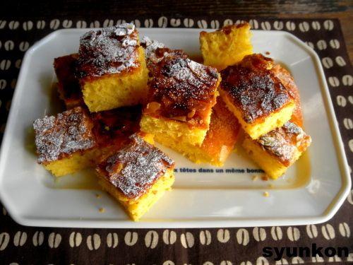【簡単!!おやつ】フライパンで*焼くまで5分!カラメル卵ケーキ | 山本ゆりオフィシャルブログ「含み笑いのカフェごはん『syunkon』」Powered by Ameba