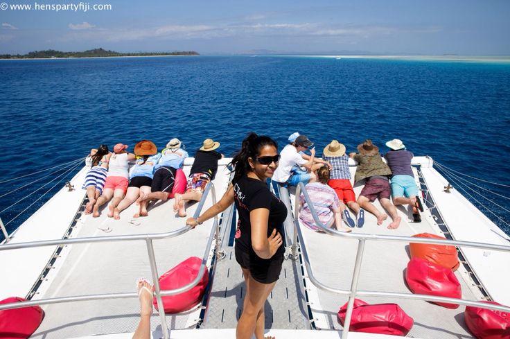 This could be your group ..#fiji #tourismfiji #hens #bucks #preweddingcruise #postweddingcruise