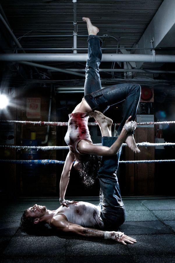 """Yoga meets Fight Club"" by martin prihoda, via 500px."