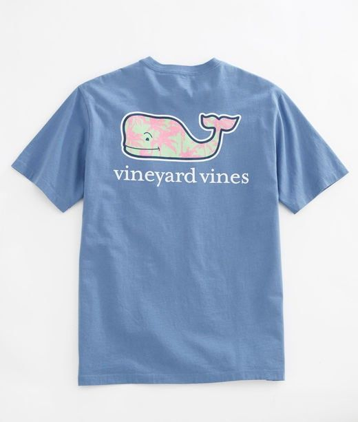 Shop Palm Trees Whale Pocket T-Shirt at vineyard vines