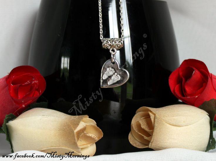 Solid silver charm made into a pendant www.facebook.com/MistyMornings www.etsy.com/uk/shop/MistyMorningsKS