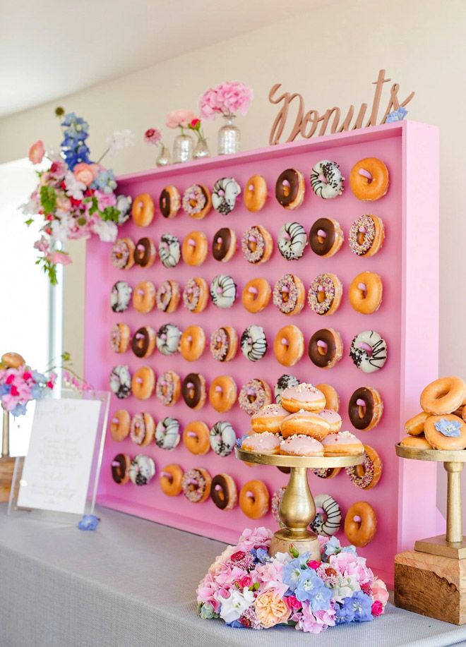 Donut walls are officially a thing | Mum's Grapevine