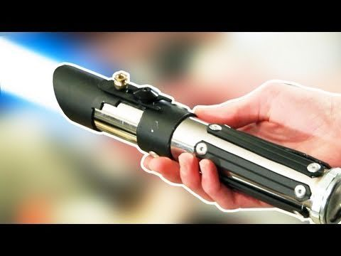 How to make your own lightsaber hilt...this is pretty awesome!  I'm gonna have to try this!