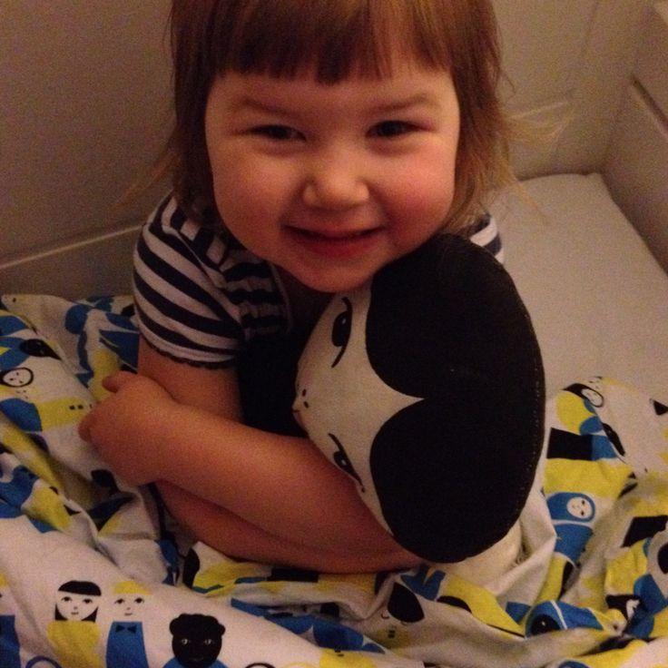 Bombotti, Oma perhe/ Own family sheets, Happy morning, photo Viivi Lehto