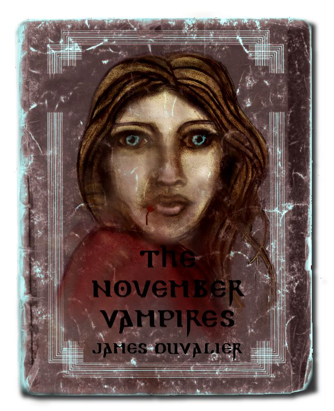 Ebook Cover Design The November Vampires on Behance
