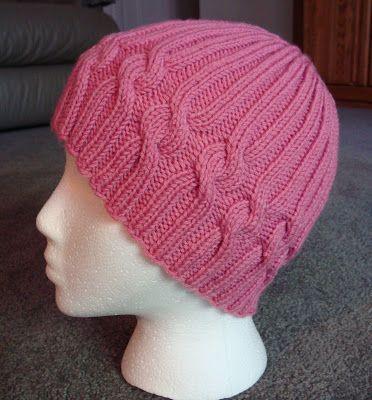 Kim's Knitting Korner: FREE: Ribbons of Hope Hat Pattern