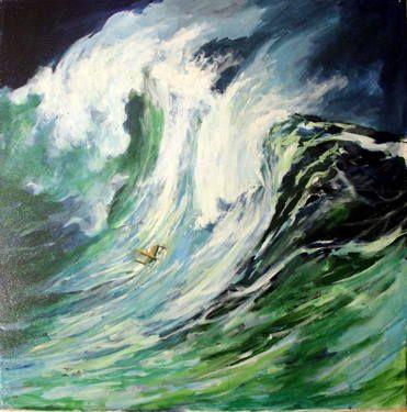 "Saatchi Art Artist Gilberto Gaspar; Painting, ""serie Falezia Revisitada (SOLD)"" #art"