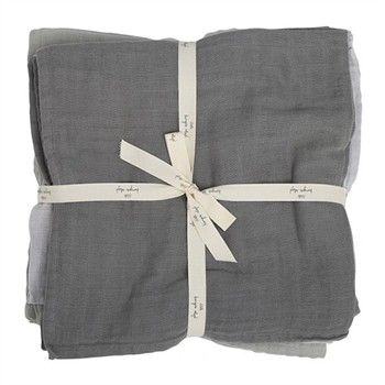 17318c88115 Konges Sløjd Stofbleer 10-pak - Storm Grey | Baby stuff and baby ...