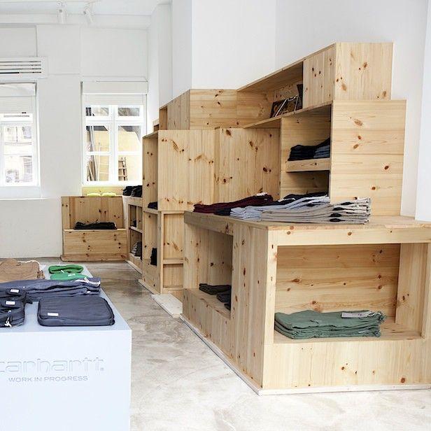 Pinewood installation