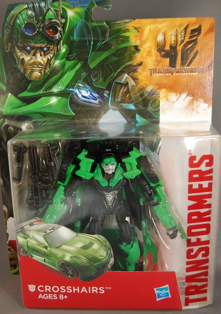 Transformers 4 Generations Deluxe Class CROSSHAIRS Age of Extinction Figure NEW #Hasbro