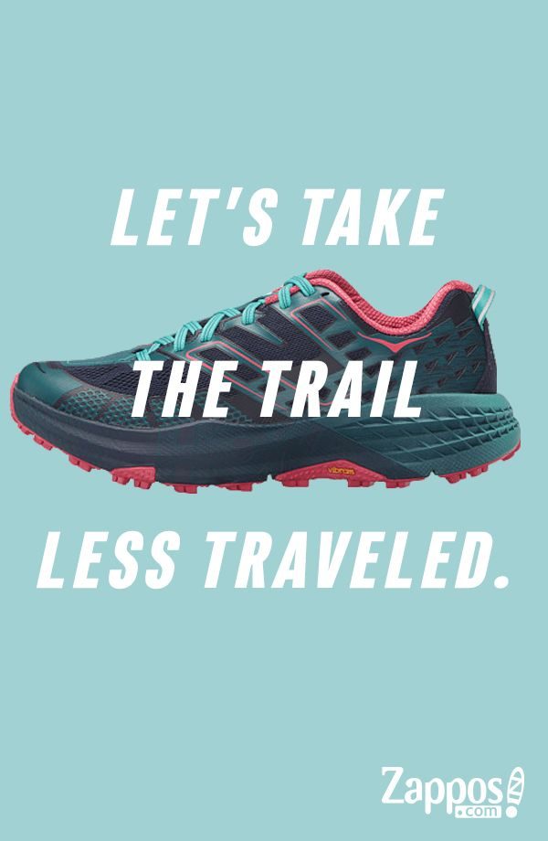 Hoke One One is your go-to trainer for trails, dirt roads, and cross country running. Inspired by the harsh conditions of the Speedgoat 50k race, this is the ultimate sneaker to hit the trails with confidence.