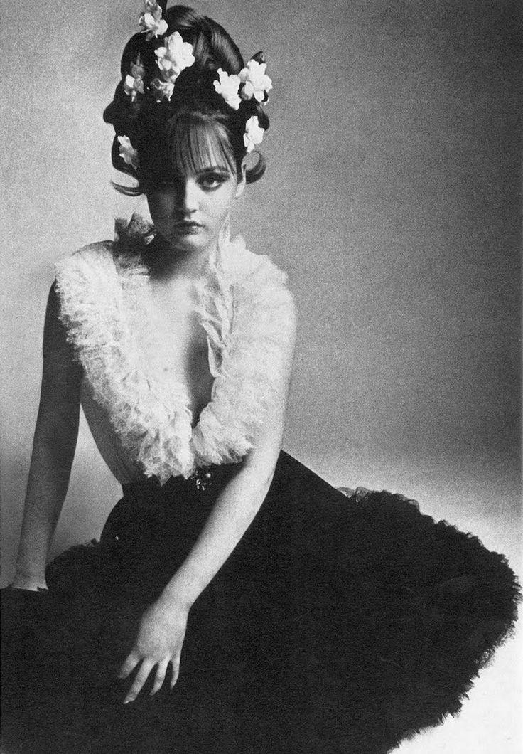 Christian Dior, Spring 1966, Vogue UK.  Photographer: David Montgomery, Model: Ingrid Boulting