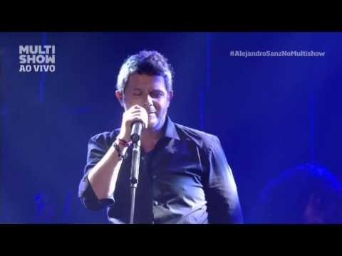 ALEJANDRO SANZ - Bailo com Vos feat. Roberta Sá (MultiShow AO Vivo  que ricoooo!
