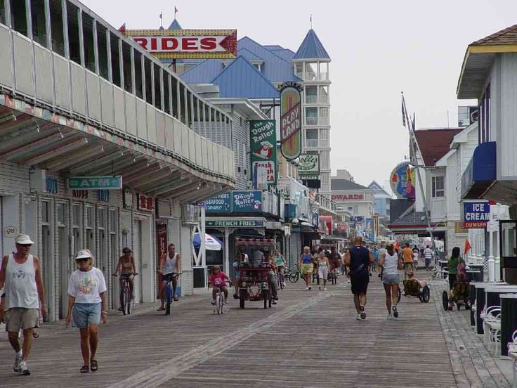 Ocean City Boardwalk | Ocean City Boardwalk - A Guide to the Ocean City, Maryland Boardwalk