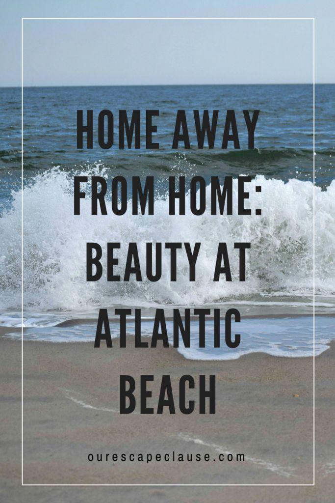 Home Away from Home: Beauty at Atlantic Beach, NC -- North Carolina beach, Crystal Coast