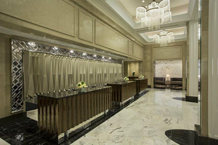 A Fabulous Lobby at the Loews Regency Hotel   Hotel Interior Designs http://hotelinteriordesigns.eu/a-fabulous-lobby-at-the-loews-regency-hotel/ #design #interior #design #best #hotel #interiors #lobby #newyork #manhattan
