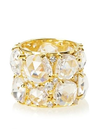73% OFF Crislu Clear Candy Couture Ring