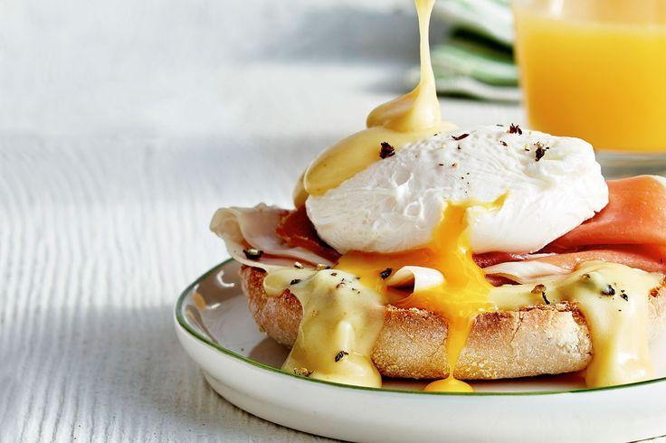 Make Gordon Ramsay's eggs benedict.
