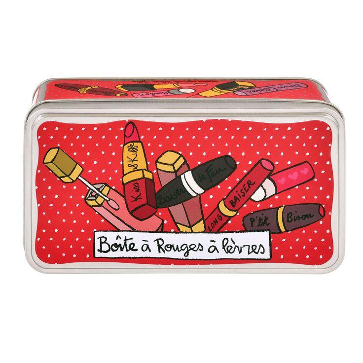 45 best maquillage et accessoires images on pinterest for Accessoire deco rouge