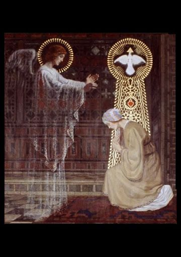 "Immaculate Conception of the Virgin Mary | 2015 | Catholic Mass Readings | Annunciation (ORATORIO DELLA SS. TRINITÀ NEL PALAZZO VESCOVILE) | Lc 1:35 | And the angel said to her in reply, ""The holy Spirit will come upon you, and the power of the Most High will overshadow you. Therefore the child to be born will be called holy, the Son of God."