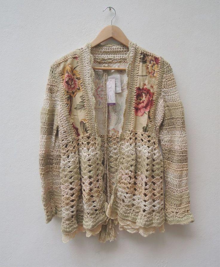Saco lana y genero - Comprar en PAULA Y AGUSTINA RICCI