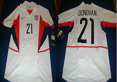 NIKE LANDON DONOVAN USA HOME JERSEY FIFA WORLD CUP KOREA/JAPAN 2002 .