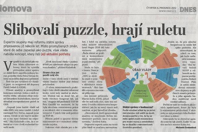 Slibovali puzzle, hrají ruletu by kozusnik.eu, via Flickr