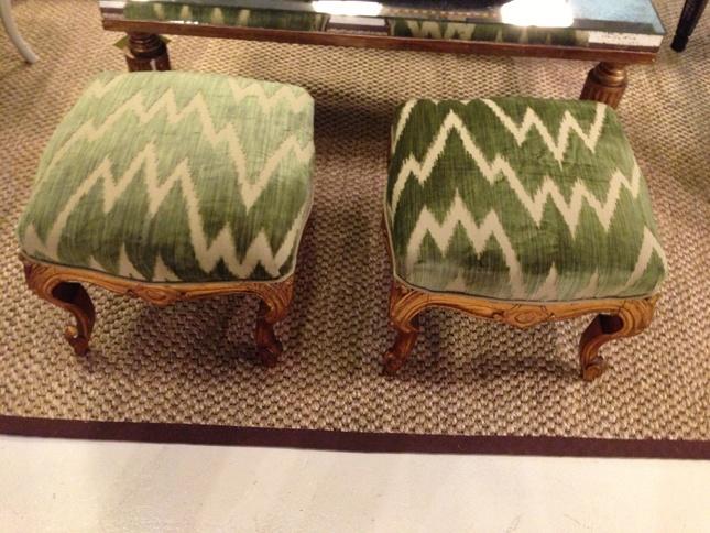 adorable chevron stools