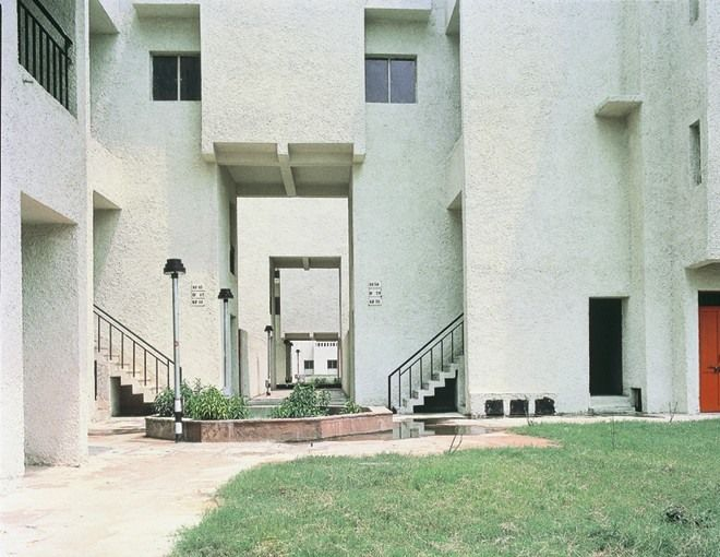 Raj Rewal :: Sheikh Sarai Housing - New Delhi