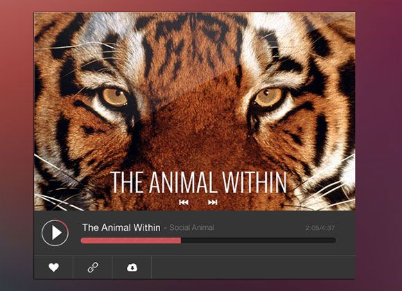 Freebie Online Music Player #freeplayer from http://ortheme.com