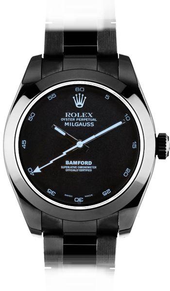 ::: Bamford Watch x Rolex Milgauss Sonar